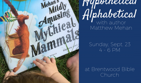Author Event with Matthew Mehan