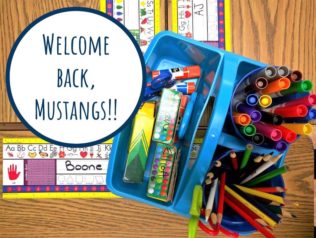 Welcome Back Mustangs