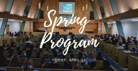 2019 Spring Program