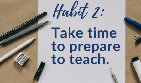 Habits of Highly-Effective Co-Teachers